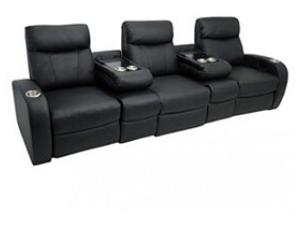 Seatcraft Rialto Flip Arm Top Grain Leather 5000, Power or Manual Recline, Black or Brown