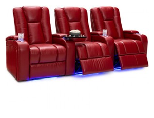 Seatcraft Serenity Top Grain Leather 7000, Power Recline, Black, Brown, Red or Vanilla