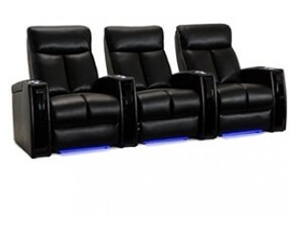 Seatcraft Seville 4 Materials, 15+ Colors, Powered by SoundShaker, Power or Manual Recline, Straight or Curved Rows