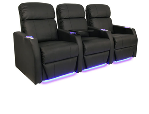 Seatcraft Sienna Bonded Leather, Power or Manual Recline, Black or Brown