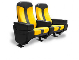 Sonic Plus Commercial Movie Theater Seats