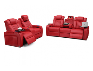 Seatcraft Spire Sofa & Loveseat 3 Materials, 15+ Colors, Powered Headrest & Lumbar, Power Recline