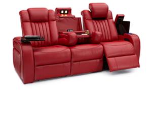 Seatcraft Spire Sofa 3 Materials, 15+ Colors, Powered Headrest & Lumbar, Power Recline