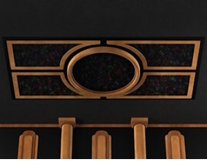 SoundRight Deluxe Round Star Panel