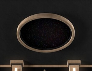 SoundRight Round Star Panel