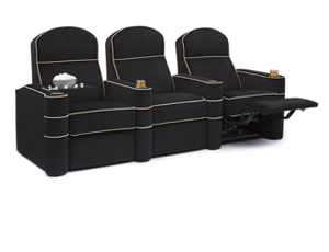 Cavallo Symphony 2 Materials, 95+ Colors, Power or Manual Recline, Straight or Curved Rows