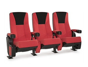 Seatcraft Vanguard Fabric, Red/Black or Black