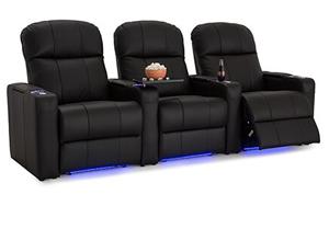 Seatcraft Venetian Top Grain Leather 7000, Power Recline, Black or Brown