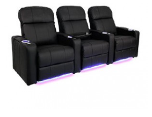 Seatcraft Venetian Bonded Leather, Power or Manual Recline, Black or Brown