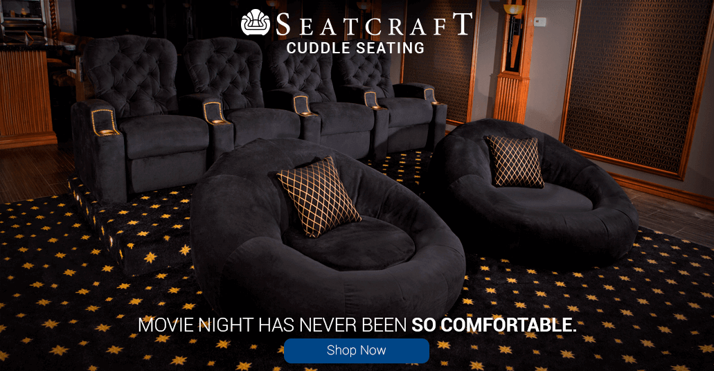 Movie night has never been so comfortable with the Seatcraft Cuddle Seat